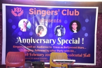 Singers Club - Anniversary - Feb2018